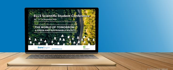 ELLS Scientific Student Conference promotion screen